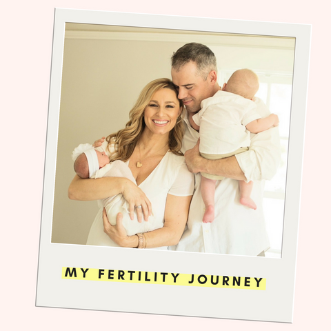 Alexis DelChiaro Unexplained Infertility Journey