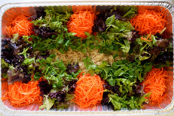 Brown Rice Tray