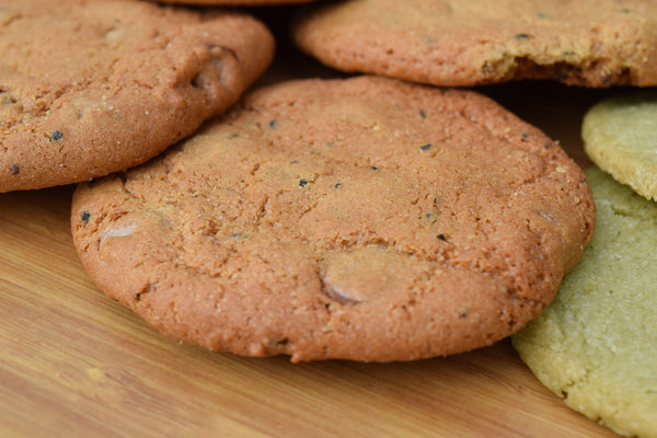Chocolate Chip Black Sesame Cookie
