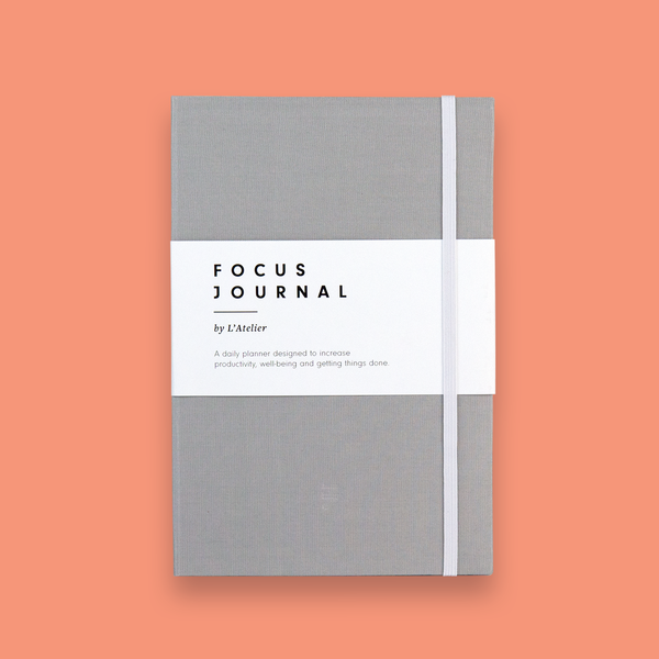 The Focus Journal - Light Grey