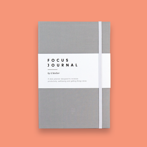 The Focus Journal V1 - Light Grey