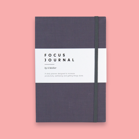 The Focus Journal - Dark Grey