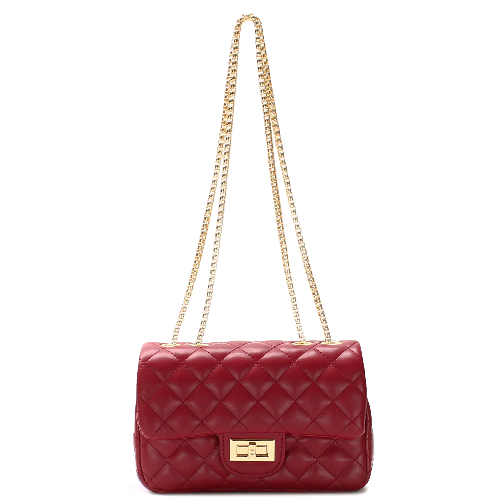 CLASSIC QUILTED SHOULDER BAG - Jenuine Handbags