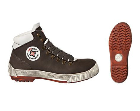 REDBRICK SAFETY SHOE BROWN