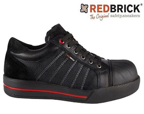 REDBRICK SAFETY SHOE RUBY BLACK