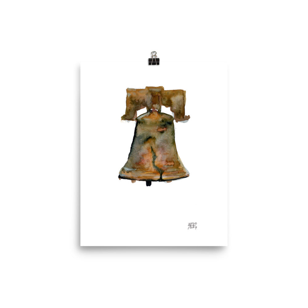 Ring My Liberty Bell Print by Andrea LaHue