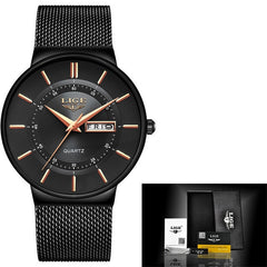 Luxury Waterproof Ultra Thin Quartz Watch