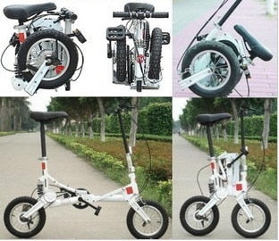 Super Mini Size 12'' Folding Bicycle