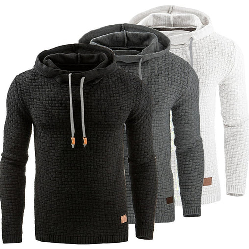 Men's Slim Sweatshirts Casual Sportswear Hooded