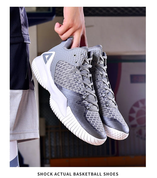 Basketball Breathable Anti-slip Wearable Basketball Sneakers
