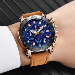 Military Leather Sports Watches