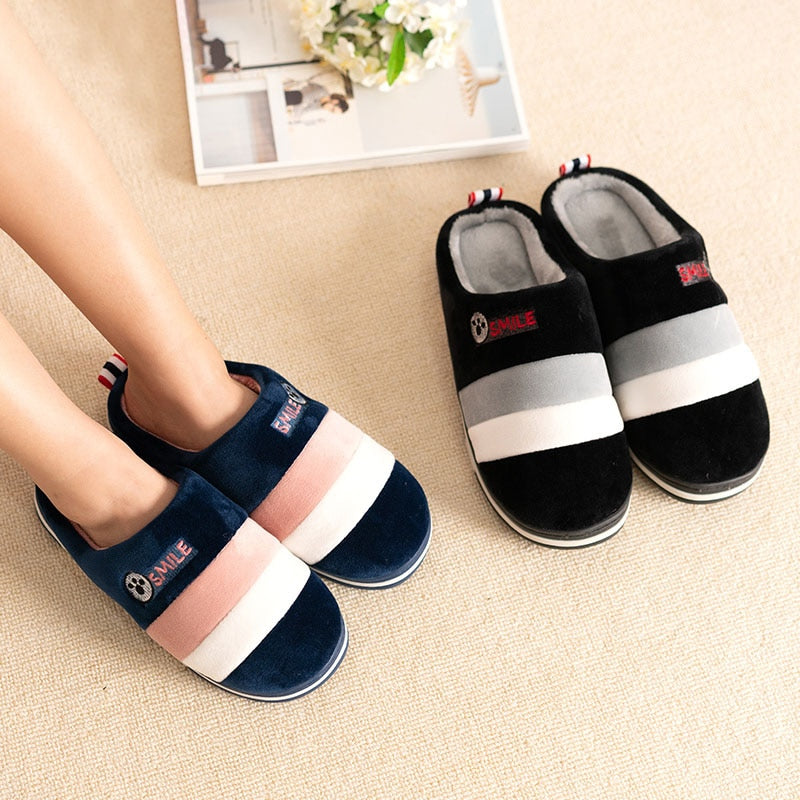 Warm Autumn Antiskid Lovely Home Mixed Color Shoes