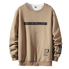 Men Casual O-Neck Long Sleeve Sweatshirts
