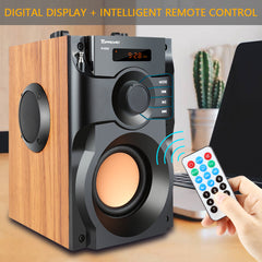 Portable Wireless FM Radio Support Sound Box