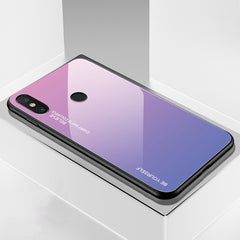 Gradient Tempered Glass Phone Cases