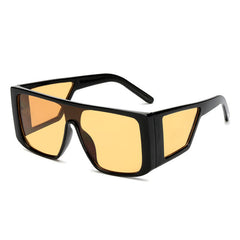 Unisex Square Over-sized UV400 Sunglasses
