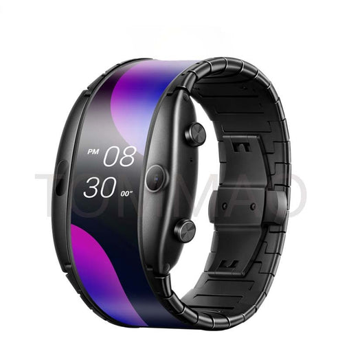 "4.01"" Flexible Display Sports Watch Phone"