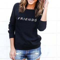 Long Sleeve Slouch Pullover Sweatshirt