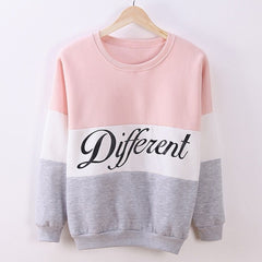 Long Sleeve O Neck Pullover Tops