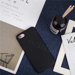 Luxury Thin Soft Color Phone Case