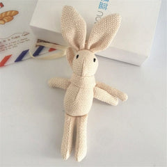 Animal Stuffed Dress Rabbit Key chain TOY
