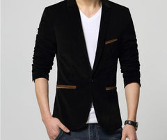 British's Style Casual Slim Fit Suit Jacket