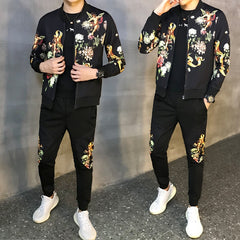Men's Hombre Sport Suit Jacket + Pants Set