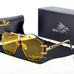 Men Women Fashion Over-sized Sunglasses