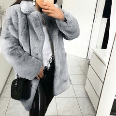 Women Warm Thick Outerwear Coat