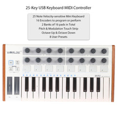 Portable Professional USB Drum Pad Keyboard