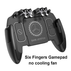 Six Finger PUBG Mobile Game Controller