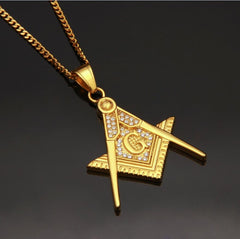 Hip Hop Stainless Steel Pendant Necklaces