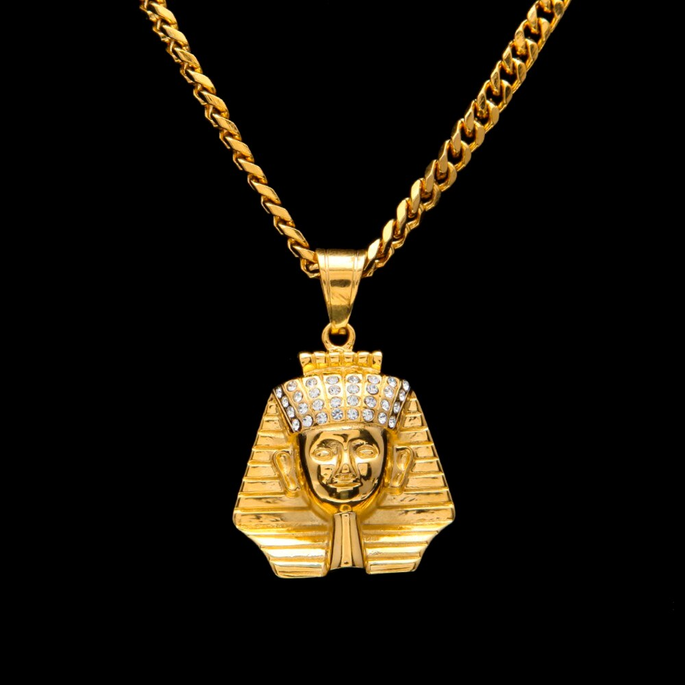 Ancient Egypt King Pharaoh Pendant Necklace