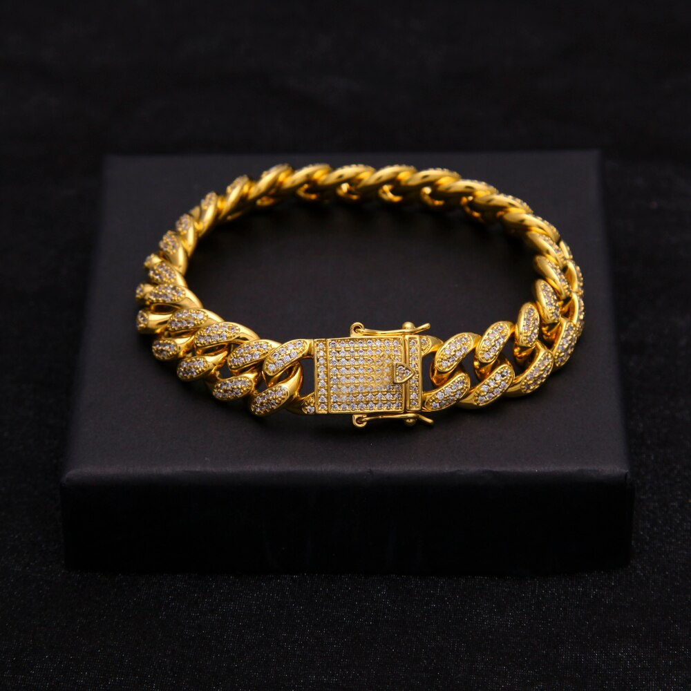Hip Hop Luxury Crystal CZ Bracelet