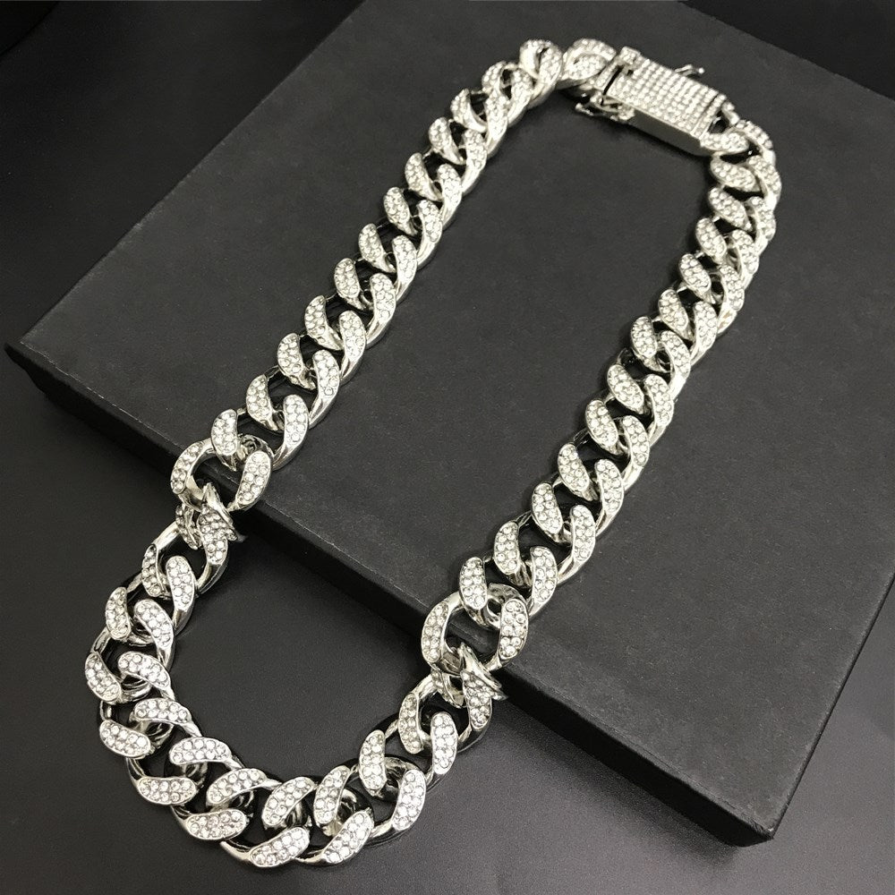 Dollar Sign Chain & Pendant Set