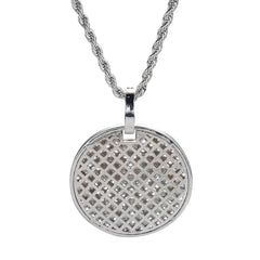 Men's Hip hop Iced Out Stone Necklace