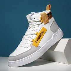 High Top Men Fashion Trainers Canvas