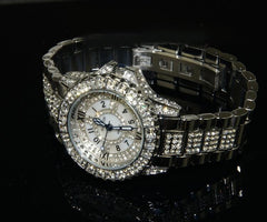 Women Full Steel Diamond Stone Watches