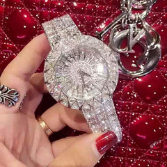 Women Diamond Rhinestone Crystal Watches