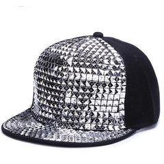 Baseball Sequins Rock Cool Hip Hop Cap