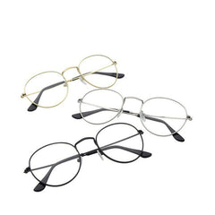 Round Frame Retro Myopia Optical Frames Eyeglasses