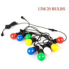 Outdoor Waterproof Ball String Christmas LED Globe Bulb