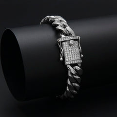 Men's Stainless Steel Triple Lock Luxury Bracelets