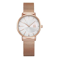 Stainless Steel Casual Wristwatch