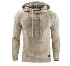 Winter Warm Knitted Men's Casual Hooded