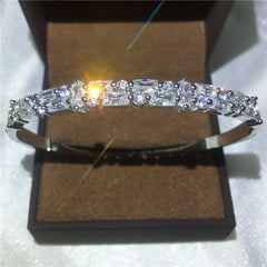 5A Zircon Filled Party Wedding Bangles
