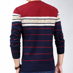 Casual Social Fitness Bodybuilding Striped T Shirts