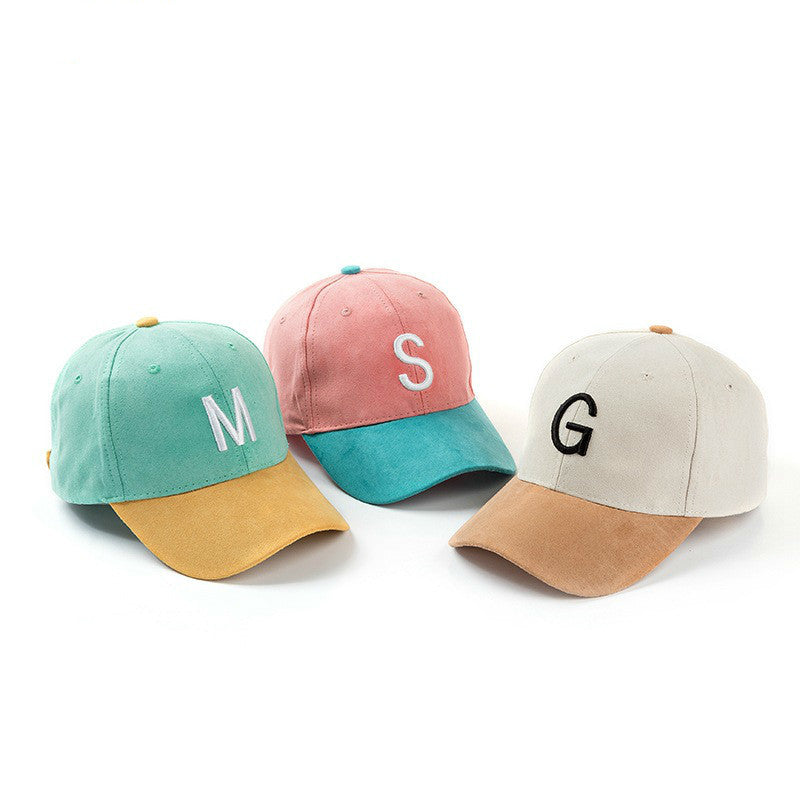 Cotton Embroidery Letter Baseball Cap