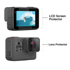 Protective Film Tempered Glass for Go Pro Hero 7 6 5 Action Camera
