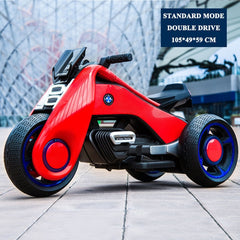 Children's Double Drive Electric Motorcycle Toys